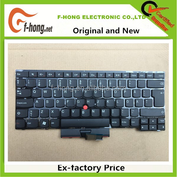Genuine Original New Swedish keyboard for IBM Thinkpad E430 E435 E330 S430 keyboard SWD/SD layout 04W2583 04W2740