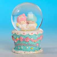 Baby cartoon crystal water balls/showpieces of home decoration/crystal ball 45mm