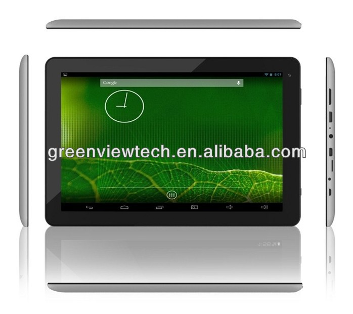 "10.1"" Capacitive five point Touch Screen RK3028 dual core ARM Cortex-A9 1.2GHz 512M 4G MID Tablet PC"