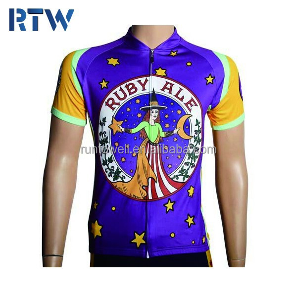 2015 high quality promotional cheap cycling wear, cycling jersey