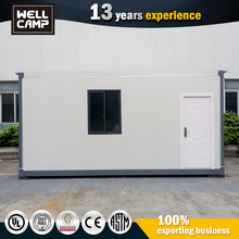 Prefab Steel Frame Cabin Portable Flat Pack Container Cabins In Ipoh For Sale