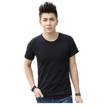 high quality men short sleeve Bamboo t-shirt bamboo clothes bamboo clothing
