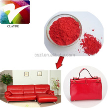 Iron Oixde Red Pigment Powder Fe2O3 Dye powder for Leathers