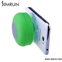 Symrun Sucker Bathroom Bt Speaker Wireless Dc Audio Subwoofer Bluetooth Loudspeaker Wireless Speaker