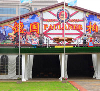 2016 new big wedding tent,air conditioned wedding tent with decoration