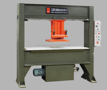 25T hydraulic travel head machine for cutting shoe uppers