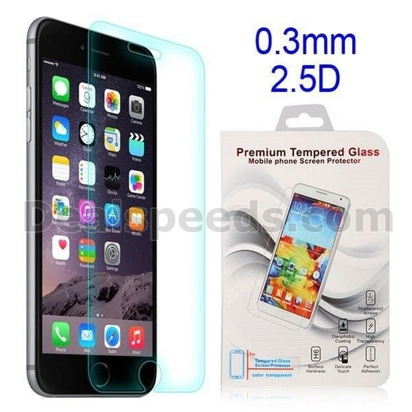 0.3mm 2.5D Tempered Glass LCD Screen Protector Guard Film for iPhone 6 4.7 inch