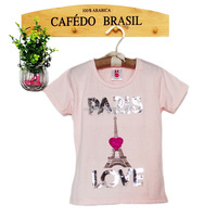 girl sweet beautiful cotton t shirts