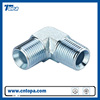 1BN9 90 Elbow BSP male to NPT male rubber fittings