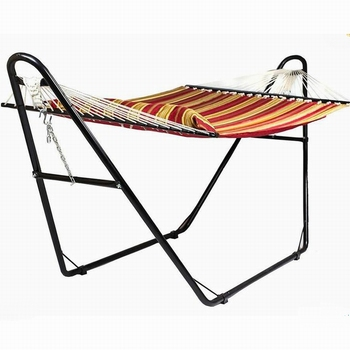 Outdoor Indoor Double Hammock With Space Saving Steel Hammock Stand IncludesCarrying Case Camping Portable Hammock Stand only