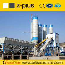 Medium scale belt conveyor of HZS60 concrete mix plant using for Worldwide enduser