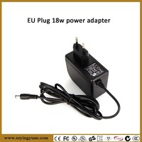 GS CE approval External Power Supply Adapter Charger, 24V/1A(1000mA), 5.5 X 2.5mm, Cable Length:1.2m