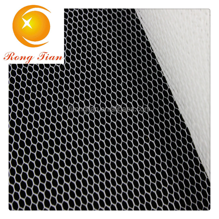 polyester honeycomb micro mesh dry fit sport fabric low price for sale