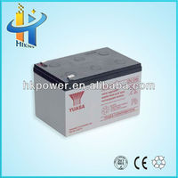 12v 12ah deep cycle battery np12-12 yuasa lead acid battery parts