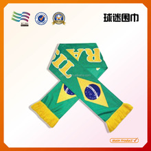 100 Polyester Football Fans Scarf Factory,custom design,different material