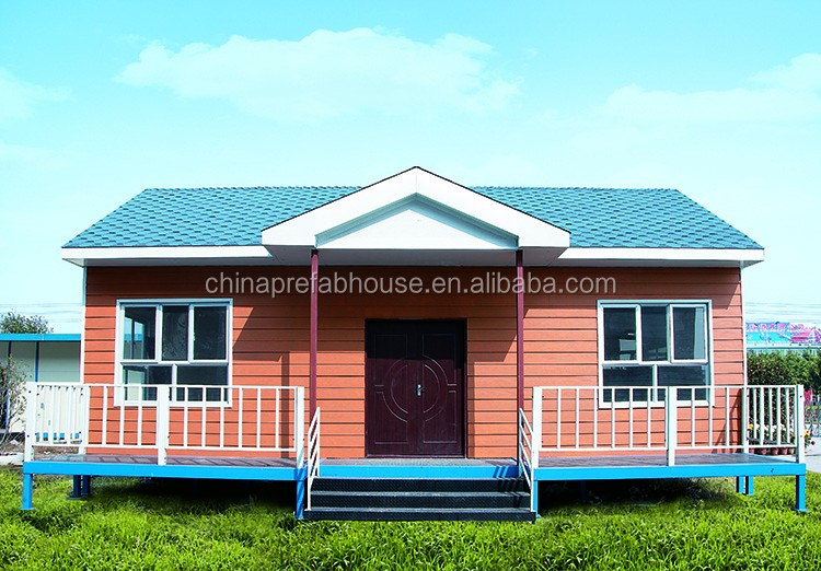 Luxury prefab steel villa modern cheap prefabricated house