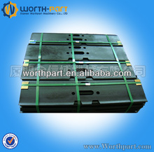 Kobelco SK07 excavator undercarriage part single grouser track pad