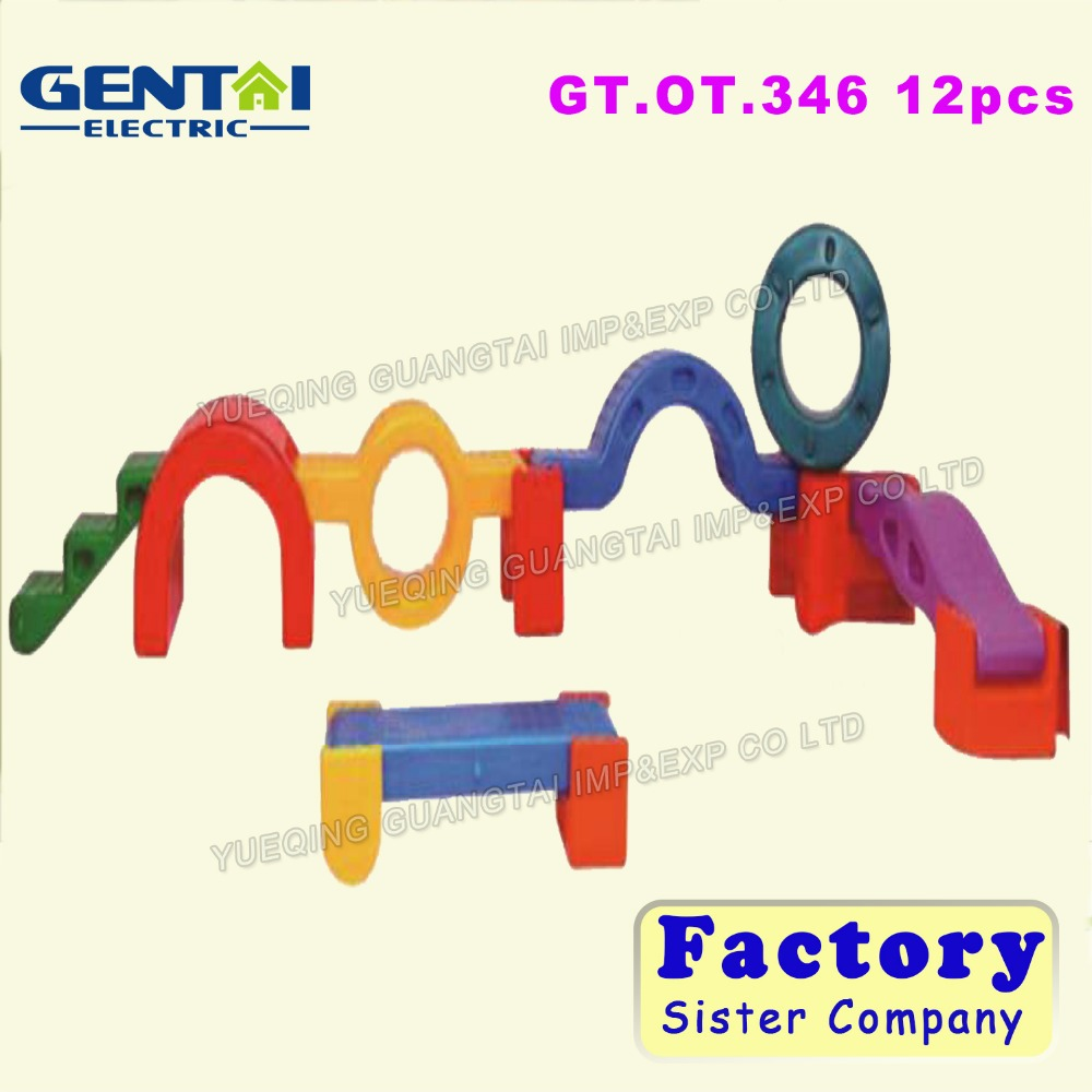 Children Professional Competition Outdoor GymnasticTraining Plastic Foam Toy Balance Beam For Sale GT.OT.346