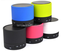2016 promotional gift items, promotional logo printed mini digital bluetooth speaker