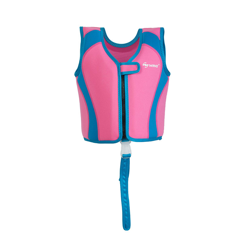 Wholesale children swimming vest trainer neoprene kids life jacket