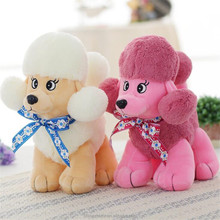 best selling products 2017 in usa shenzhen toy child product plush poodle toy display case poodle wholesale anime plush toys