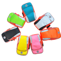 Taobao hot Nylon sport Outdoor Mobile Accessories Armband Wrist bag Cell phone Case