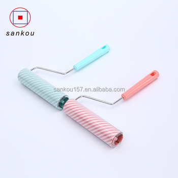 factory direct cylinder shaped dust dirt cleaning roller lint roller cat
