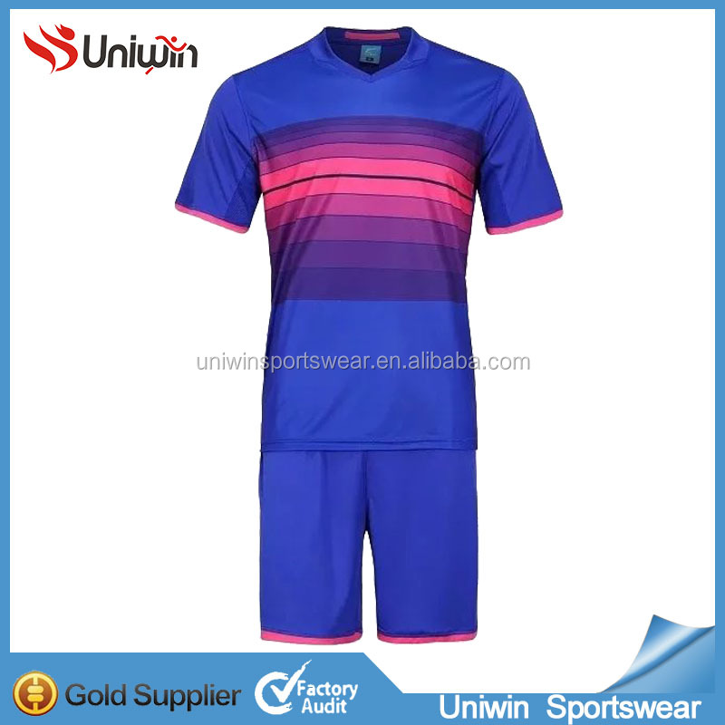Cheap Football Set Plain No Logo Soccer Jersey 2016/2017