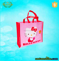 recycle custom pp nonwoven laminated fancy shopping bag