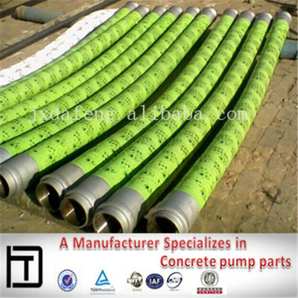 DN125 Concrete pump steel braided rubber hose,Used for Putzmeister/Schwing/Sany/Conforms/Cifa concrete pumps