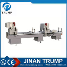 double head aluminum cutting machine for 45 degree