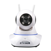 New cctv wifi p2p ip camera 1.0mp Wireless 720P Pan Tilt Network CCTV Night Vision WiFi Webcam