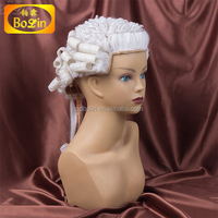 Lawyers wig in horse hair & synthetic hair