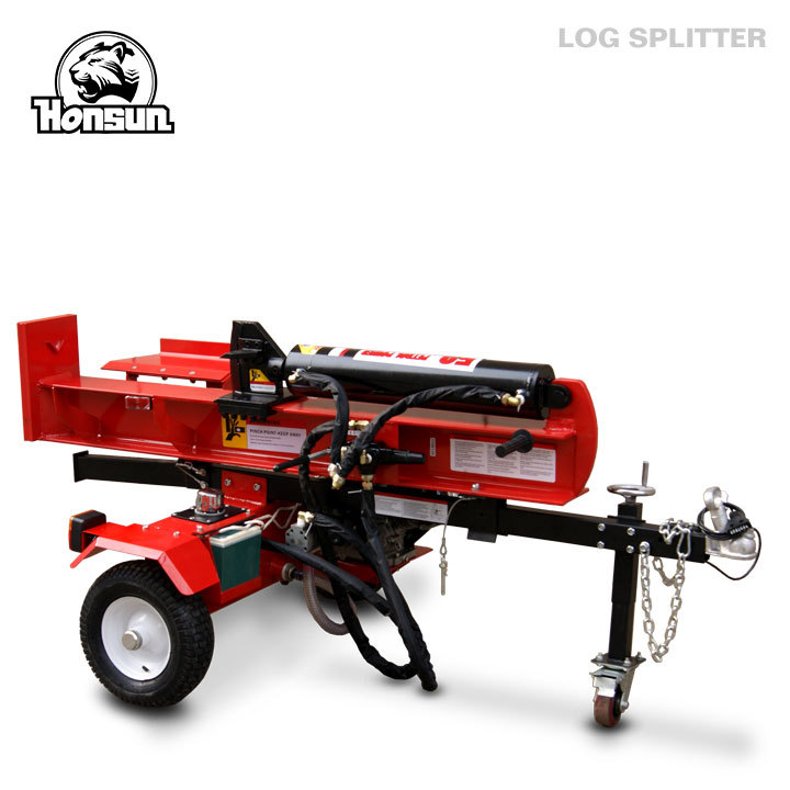 Forestry machinery CE EPA certificate electric start B&S Honda motor horizontal vertical 3 way hydraulic valve log splitter