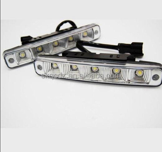 5W LED DRL Day Time Running Light Fog light Super