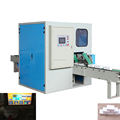 High speed adjustable facial tissue cutting machine