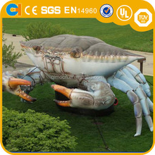 Large inflatable animal replica inflatable crab,inflatable sea animal