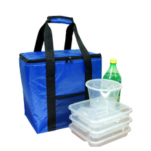 Polyester Durable Reusable Outdoor Custom Insulated Cooler bag