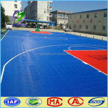 high quality sport court tiles outdoor sports flooring/Modular Tiles/Basketball Court Interlocking tile