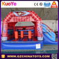 Commercial super hero inflatable bounce house for sale