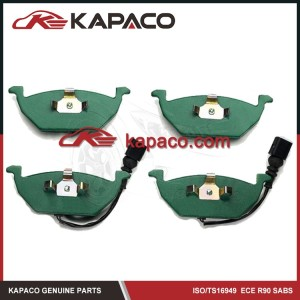 Kapaco customized Disc Car Brake Pad For Audi VW SKODA SEAT BORA 98-12 D768