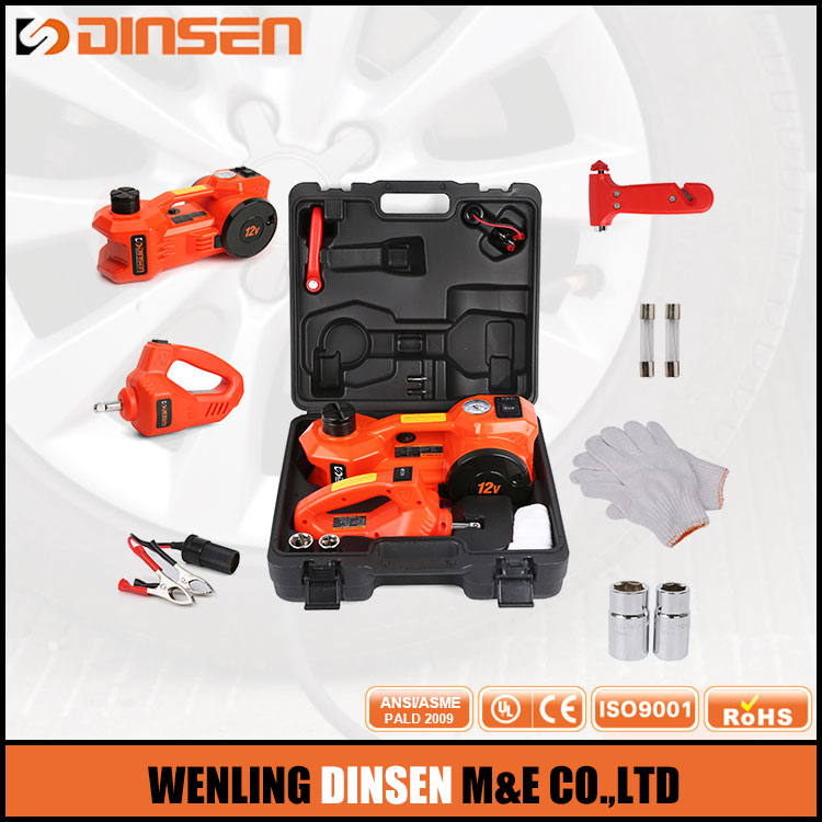 12V Dc Road Lifting+Inflating emergency car kits