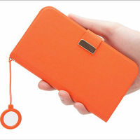 New arrival popular stand flip leather case with a hanging rope for Galaxy N7100 Note II hot selling case