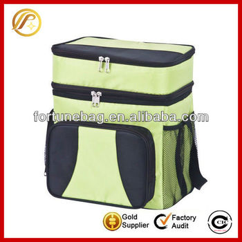 Heavy-duty insulated cooler bag