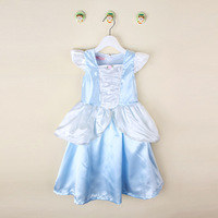 Good price frozen elsa popular dress wholesale children girl dress for wedding dance dream party clothing
