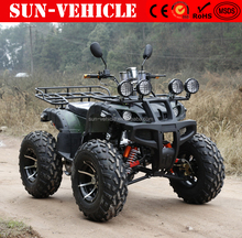 2018 cheap price 4 wheel atv quad bike, 4 wheeler gas atv 250cc 4x4 with CE for adults