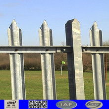2016 decorative used palisade fencing for sale