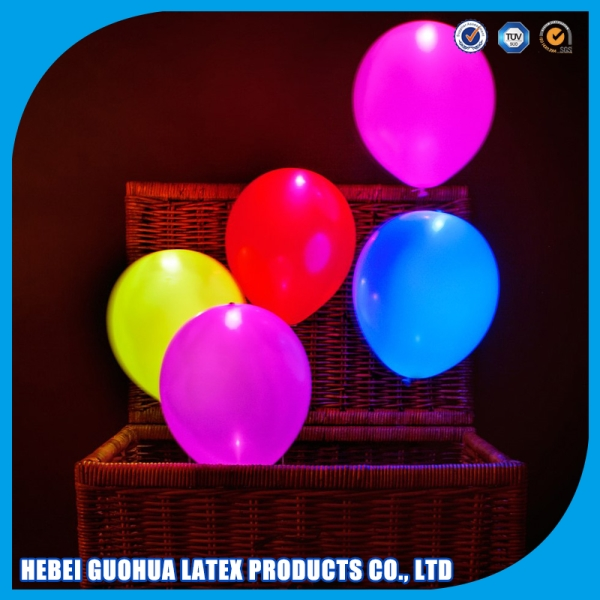 Mini LED Latex Balloons Party Lights 11Differents Colors Available For Swimming Pool Party Decoration