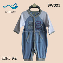 100 % cotton baby coverall wear babywear 0-24 month