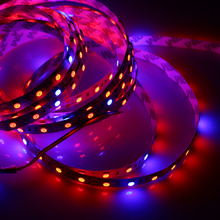 60leds/m Blue/Red 1:4 2835SMD Led strip grow light for greenhouse DC 12v plant led strip light waterproof